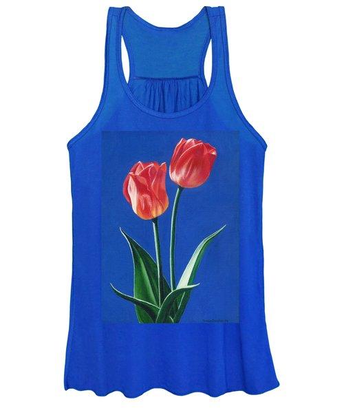 Two Tulips Women's Tank Top