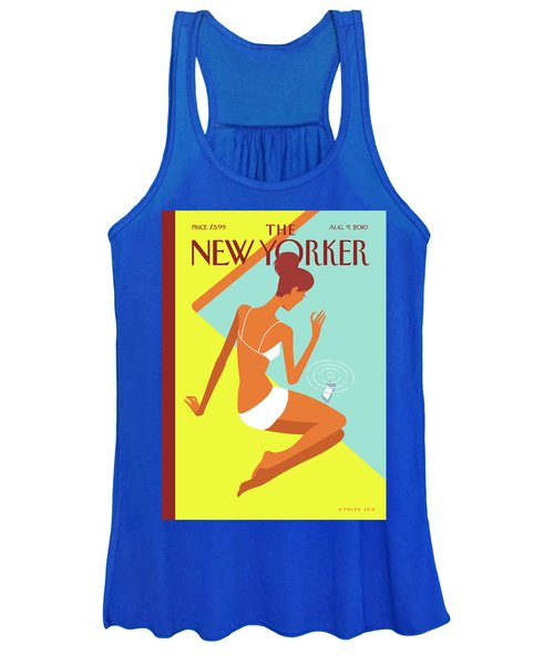 New Yorker August 9th, 2010 Women's Tank Top