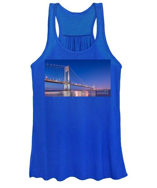 Verrazano Bridge Before Sunrise  Women's Tank Top