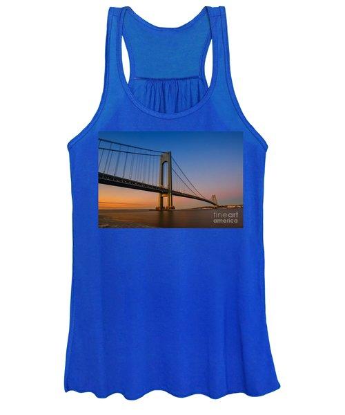 Verrazano Bridge Sunrise  Women's Tank Top