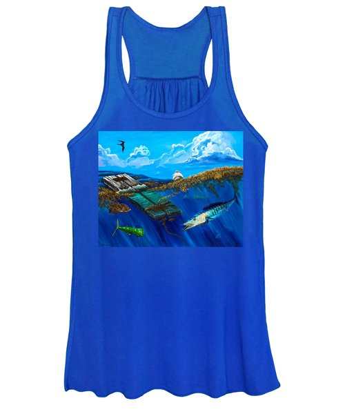 Wahoo Under Board Women's Tank Top