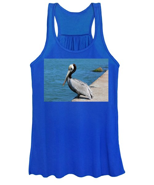 Waiting For A Fish  Women's Tank Top