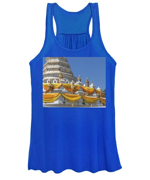 Wat Songtham Phra Chedi Buddha Images Dthb1916 Women's Tank Top