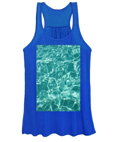 Water Meditation I. Five Elements. Healing With Feng Shui And Color Therapy In Interior Design Women's Tank Top