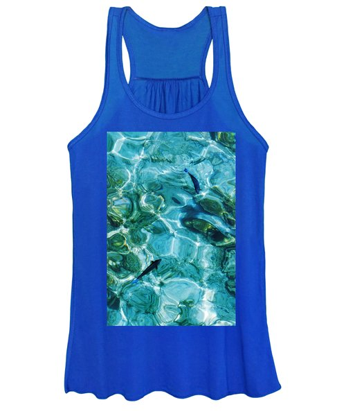 Water Meditation II. Five Elements. Healing With Feng Shui And Color Therapy In Interior Design Women's Tank Top