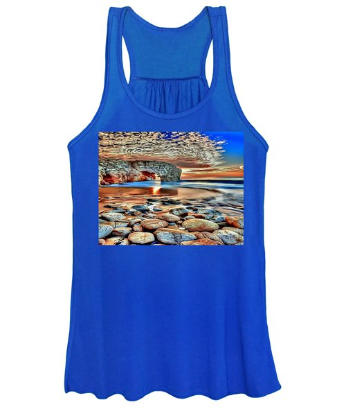 Weighed In Stone Women's Tank Top