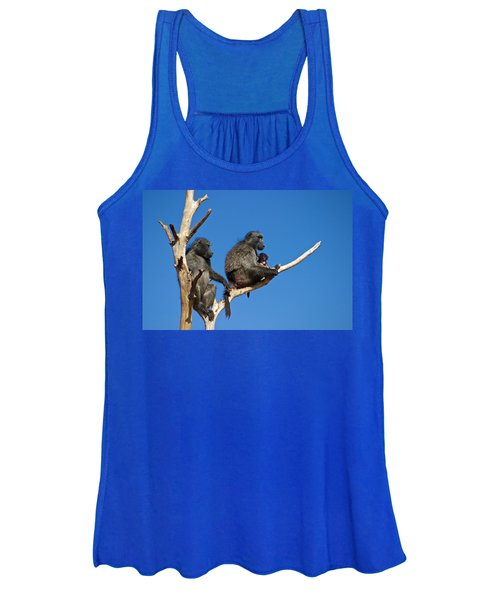 Baboon Family Namibia Women's Tank Top