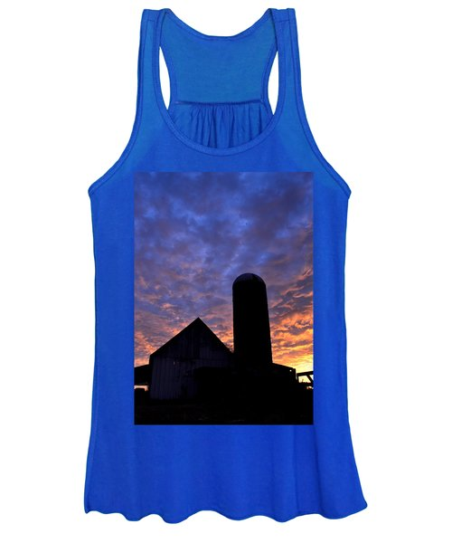 Barnyard Sunrise I Women's Tank Top