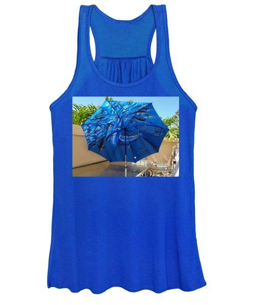 Fine Art Umbrella Women's Tank Top