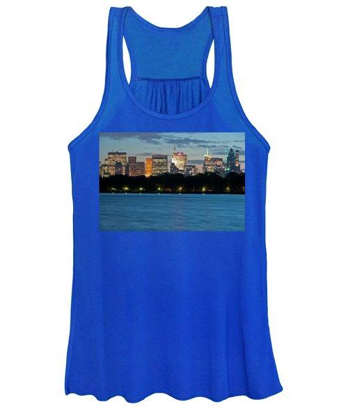 Great Pond Skyline Women's Tank Top