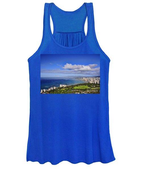 Honolulu From Diamond Head Women's Tank Top