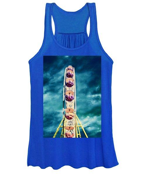 infrared Ferris wheel Women's Tank Top