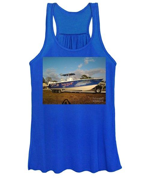 Kingfish Boat Wrap Women's Tank Top