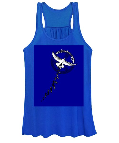 Let Freedom Reign Women's Tank Top