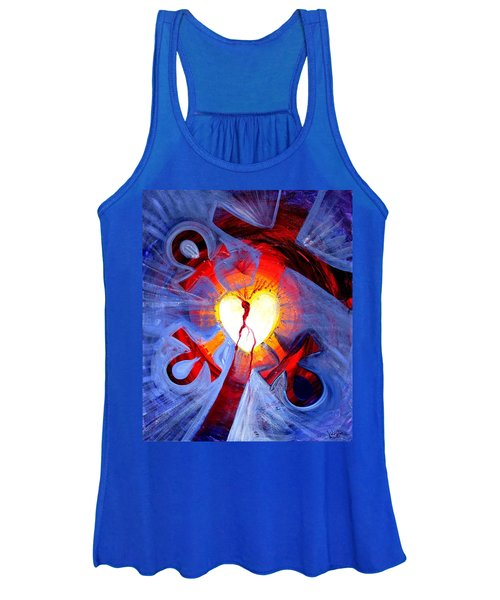 Love - In Three ... For All Women's Tank Top