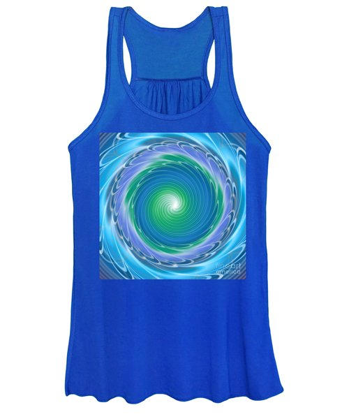 Mandala Spin Women's Tank Top