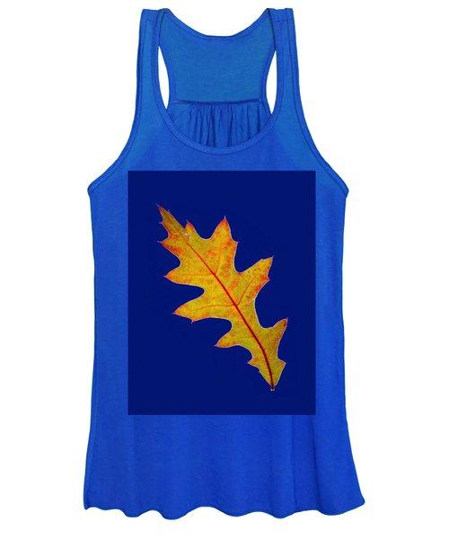 Pin Oak Leaf Women's Tank Top