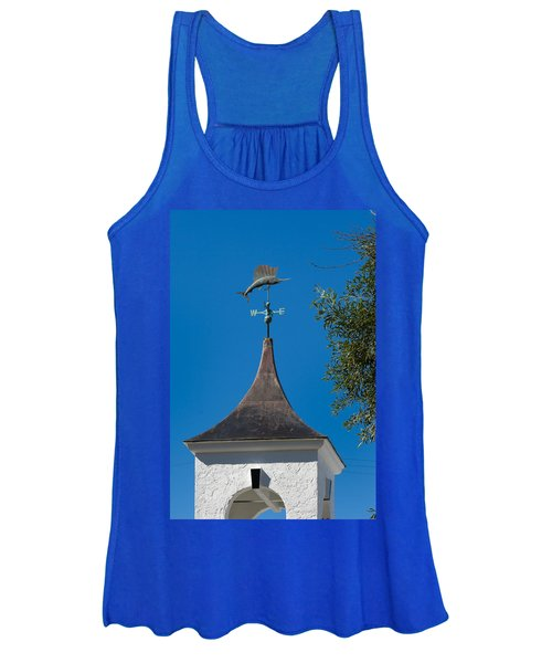 Sailfish Weather Vane At Palm Beach Shores Women's Tank Top