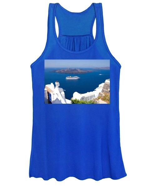 Santorini Cruising Women's Tank Top