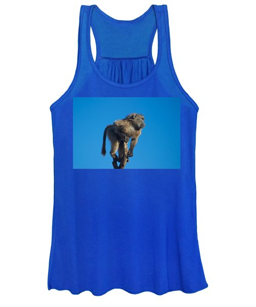 Sentry Baboon Namibia Women's Tank Top