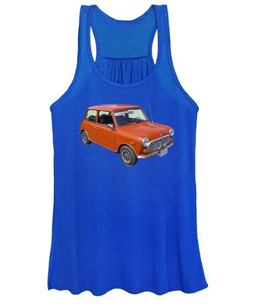 Red Mini Cooper Women's Tank Top
