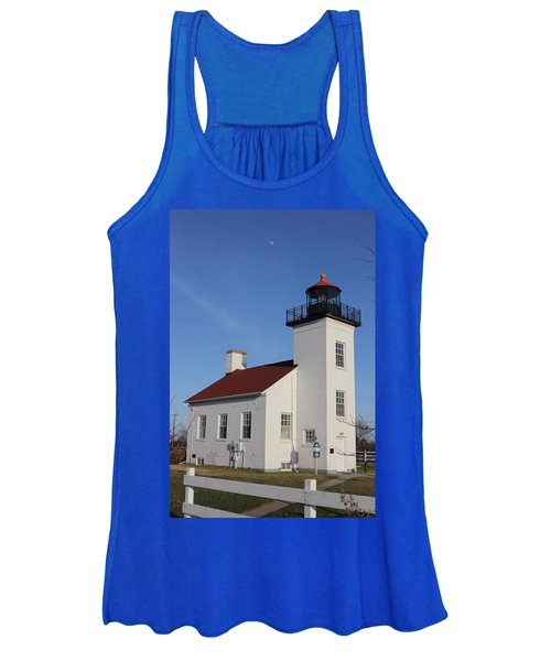 Sand Point Lighthouse Escanaba Women's Tank Top