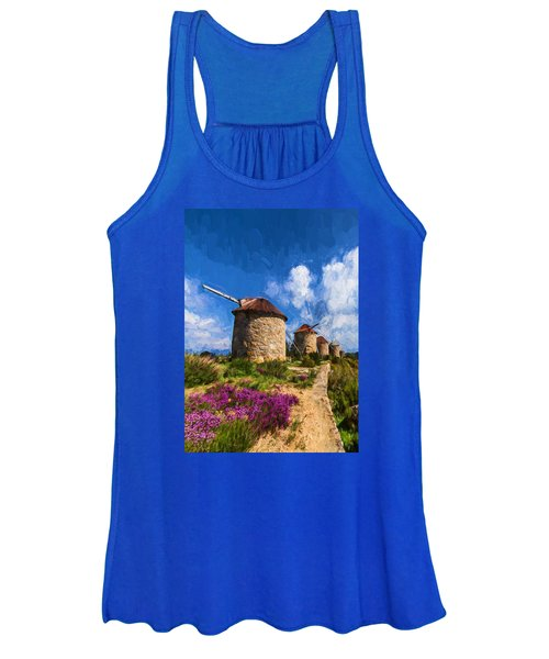 Windmills Of Portugal Women's Tank Top
