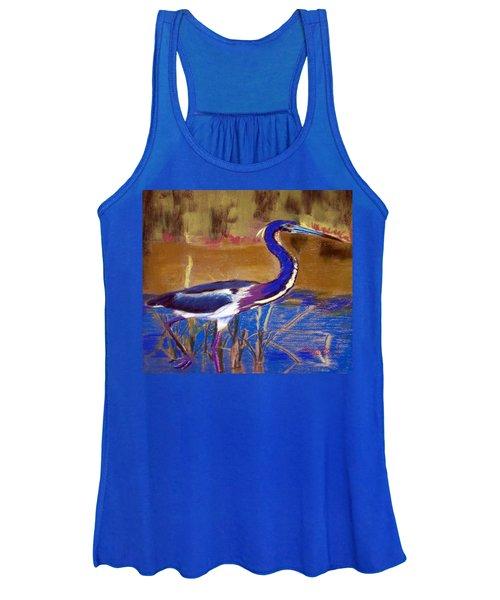 081315 Heron Women's Tank Top