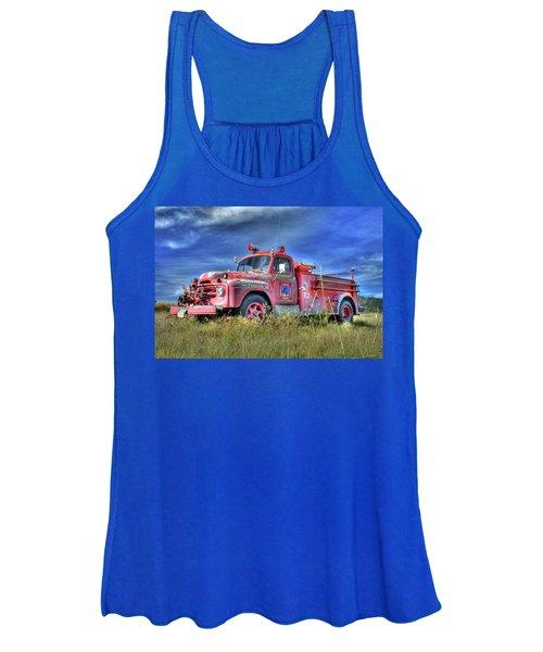 International Fire Truck 2 Women's Tank Top