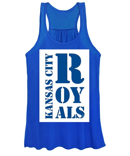 Kansas City Royals Typography Women's Tank Top