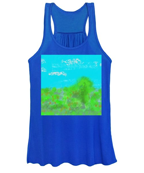 Landscapes Of The Past Women's Tank Top