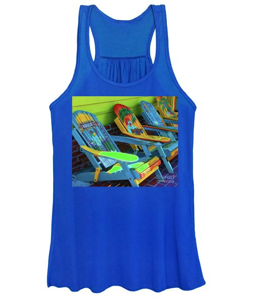 License To Chill Women's Tank Top