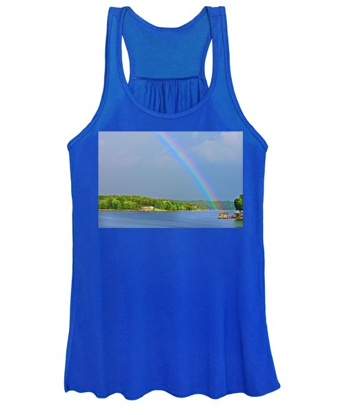 Smith Mountain Lake Rainbow Women's Tank Top