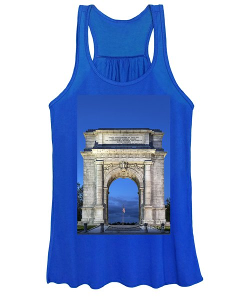 Memorial Arch Valley Forge Women's Tank Top