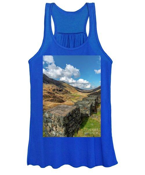Nant Ffrancon Pass Snowdonia Women's Tank Top