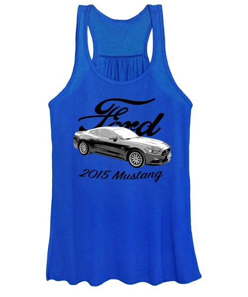 2015 Ford Mustang Women's Tank Top