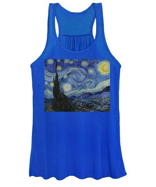 The Starry Night Women's Tank Top