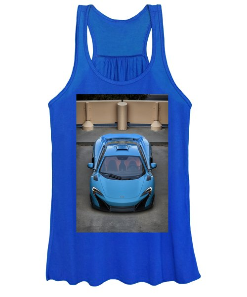 #mclaren #675lt #print Women's Tank Top