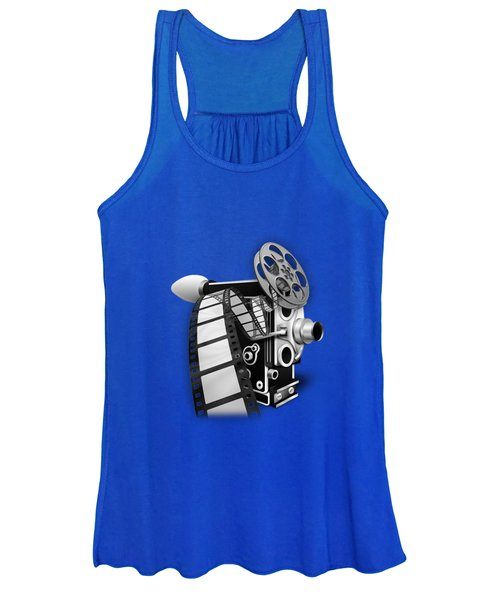 Movie Room Decor Collection Women's Tank Top