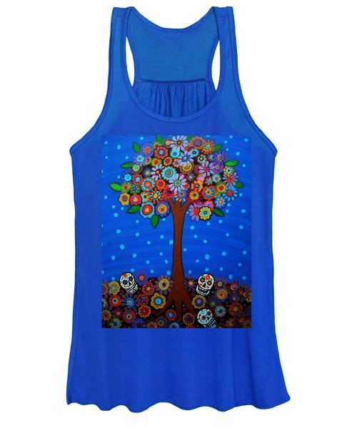 Day Of The Dead Women's Tank Top