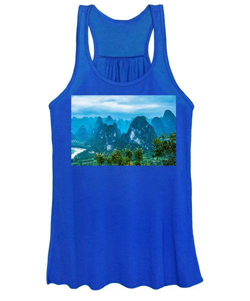 Karst Mountains Landscape Women's Tank Top