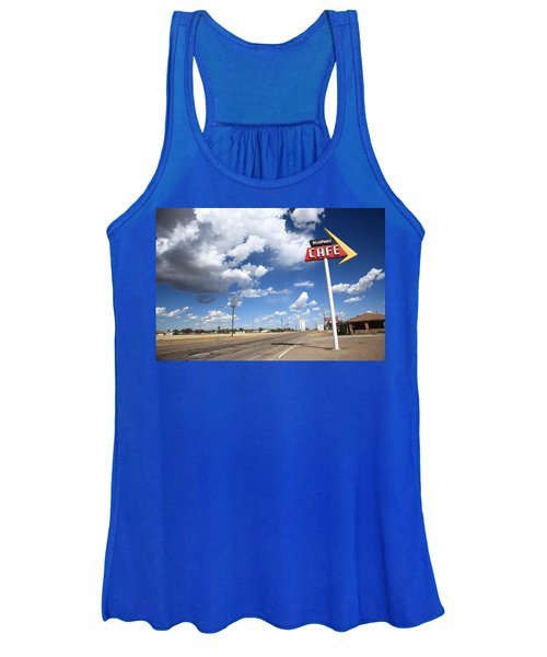 Route 66 Cafe Women's Tank Top