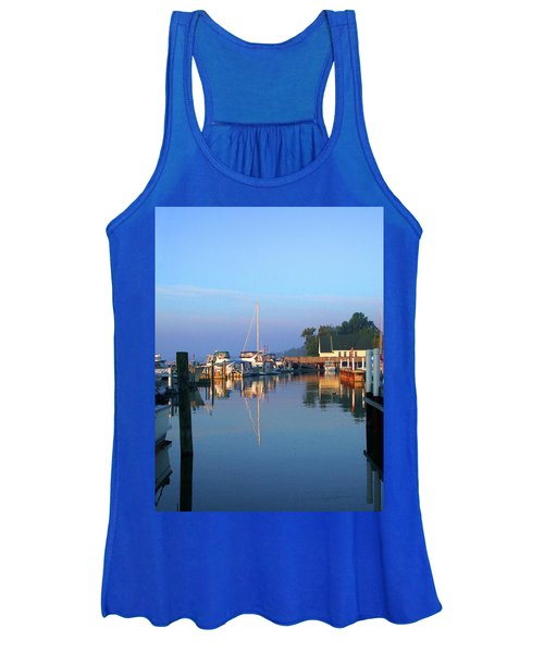 A Perfect Tawas Morning Women's Tank Top