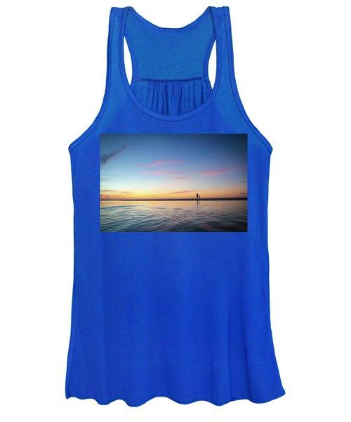 A Twilight Beach Walk Women's Tank Top