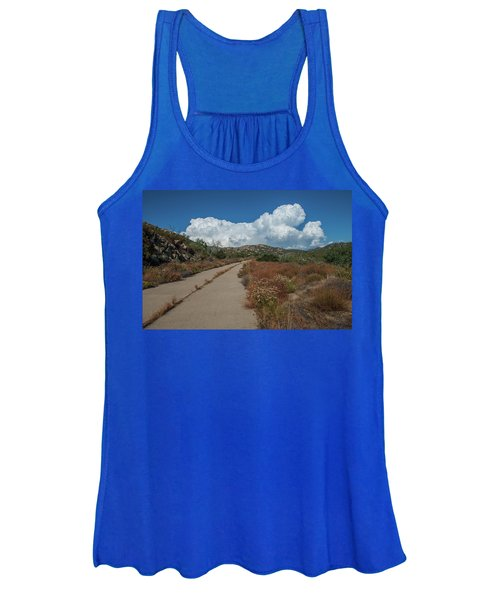 Afternoon, Old Road Women's Tank Top