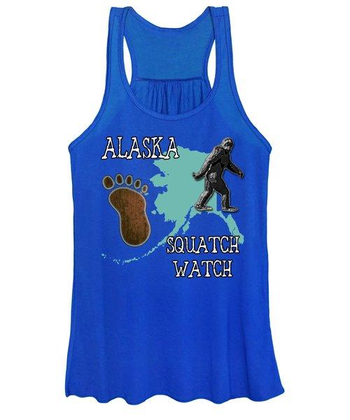 Alaska Squatch Watch Women's Tank Top