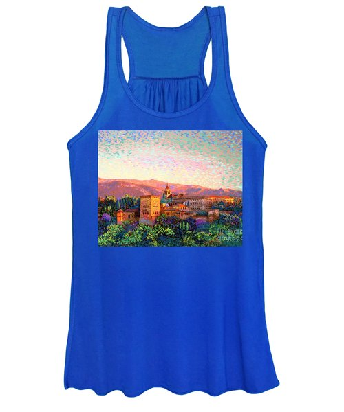 Alhambra, Granada, Spain Women's Tank Top