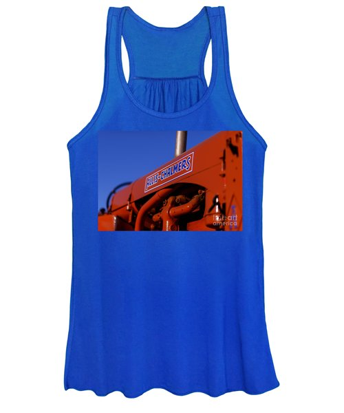 Allis-chalmers Vintage Tractor Women's Tank Top