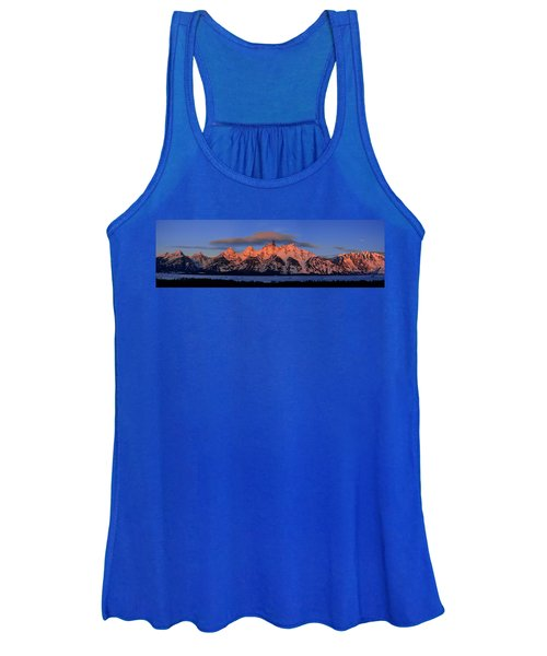 Alpenglow Tetons 2 Women's Tank Top