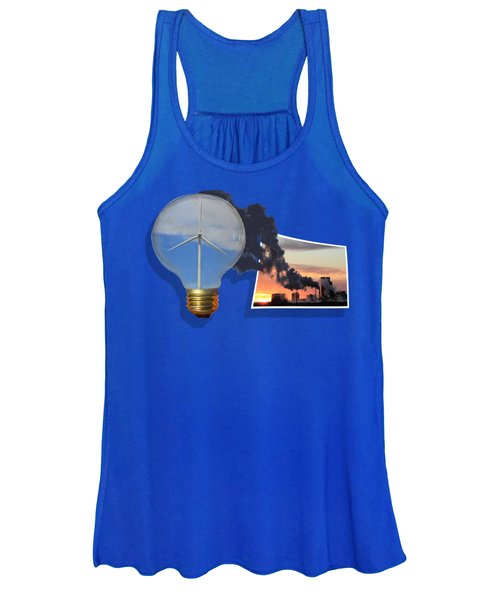 Women's Tank Top featuring the photograph Alternative Energy by Shane Bechler